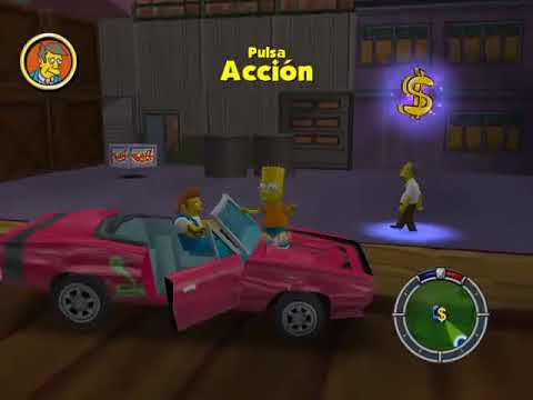 Lets Play Simpsons Hit & Run 19 - Fin del capitulo 6