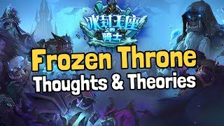 New Expansion Leaked: Knights of the Frozen Throne - Hearthstone