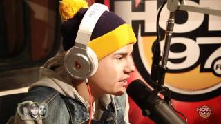 Justin Bieber talks to Hot97 Morning Show