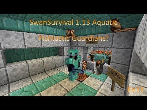 SwanSurvival 1.13 Aquatic ep.15 - Fishtastic Guardians!