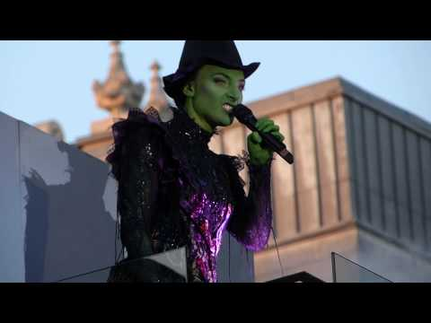 Willemijn Verkaik singing 'Defying Gravity' - 2014 Olivier Awards