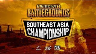 PUBG Southeast Asia Championship.