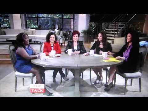 Lynda Carter on THE TALK 3/12/13 part 1