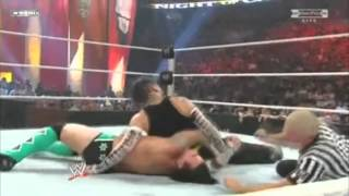 WWE Night of Champions 2009 Jeff Hardy vs Cm Punk Highlights/Resumen