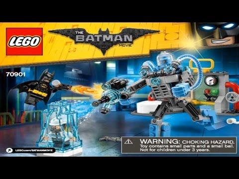 LEGO Batman Movie 2017 MR. FREEZE ICE ATTACK 70901 Лего Фильм Бэтмен Ледяная атака Мистера Фриза