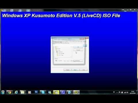 Windows XP Kusumoto Edition V.5 (LiveCD) Patcher