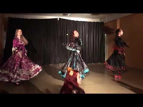 """Танец """"Мар дяндя"""". Школа танцев """"Экспромт"""". Новогодняя вечеринка 23.12.17"""
