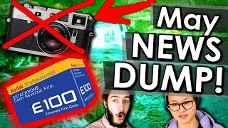 Leica & Canon DISCONTINUATIONS + NEW Ektachrome First Look!! | Photography News Dump May 2018