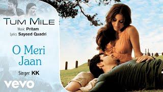 O Meri Jaan - Official Audio Song | Tum Mile | KK| Pritam