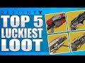 Destiny: Top 5 Luckiest Loot Drops Of The Week / Episode 20