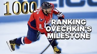 Alex Ovechkin is a legend