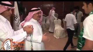 حفل ختام مسابقة المصمك الوطنية بحضور رئيس نادي الشباب