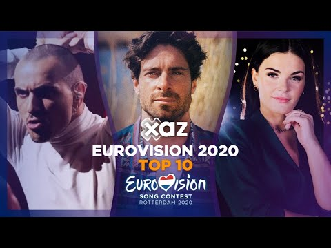 Eurovision 2020: Top 10 - NEW