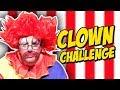 CREEPY CLOWN CHALLENGE!