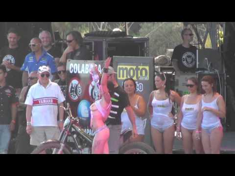Faro Bike Festival 2012 Moto Clube De Faro Including Wet  T Shirt Competition. video