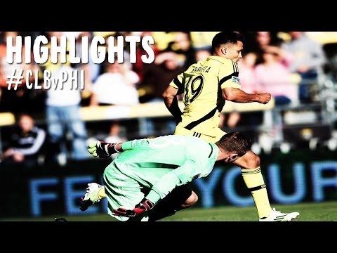 HIGHLIGHTS: Columbus Crew vs. Philadelphia Union | October 26, 2014