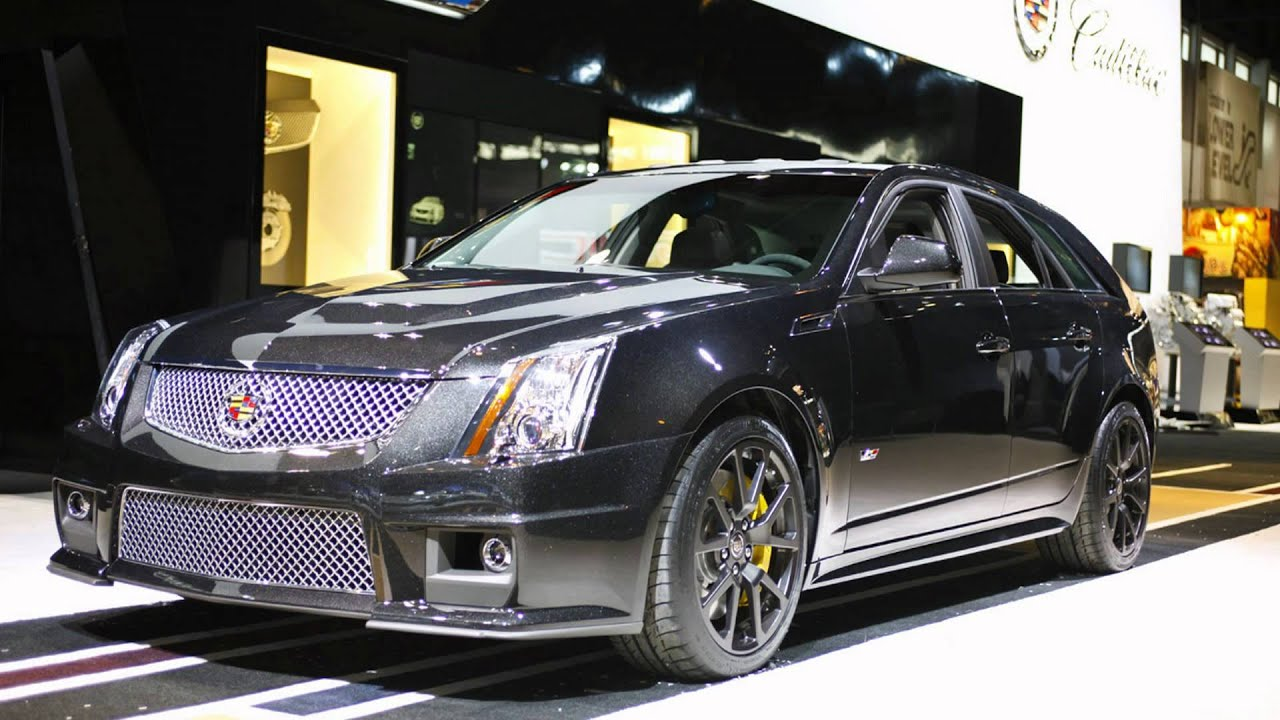 Cts Sport Wagon >> 2011 Cadillac CTS-V Sport Wagon Black Diamond Edition (2011 Chicago Auto Show) - YouTube