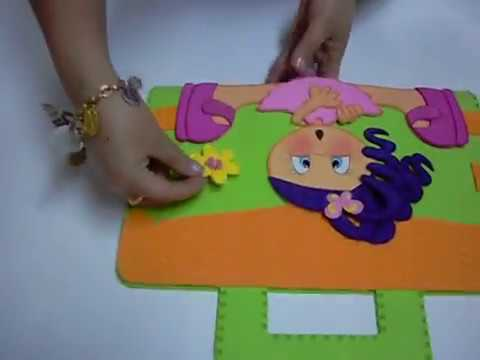 Maleta en foami goma eva microporoso youtube - Tarro con pajita ...