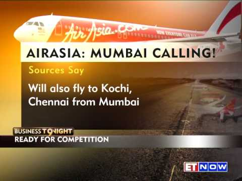 AirAsia To Begin Operations In Mumbai By March 2015