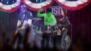 CAPTAIN AMERICA Song Parody ft Avengers