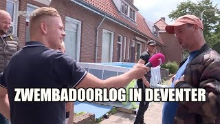 Zwembadoorlog in Deventer