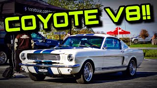 Can Modern Parts Make A Classic Be A Trackday Threat? Revology Cars 1966 Shelby GT350 First Drive
