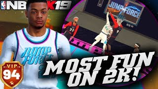 The MOST Fun I've Had On NBA 2K19! Pure Slasher Pro Am Private Lobbies! NBA 2K19 Pro Am Gameplay