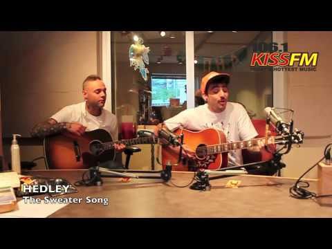Hedley  The Sweater Song Acoustic at 1061 KISS FM