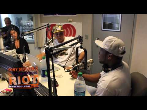 50 Cent talks with the Morning Riot
