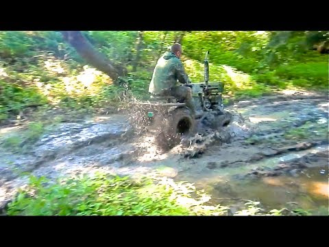 Diesel Sears DEEP MUD Tire Test