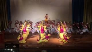 Krishna Dance performance by Nightingal school students