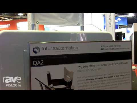 ISE 2016: Future Automation Gives us a Demonstration of the Sleek QA2 Electric Wall Mount