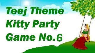 Teej queen unique game for teej theme kitty party
