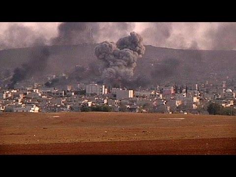قوات البشمركة الكردية تبدأ التحرك للدفاع عن عين العرب