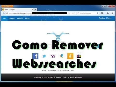 Como Remover Webs Searches
