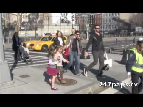 Hugh Jackman with Daughter Ava Singing Lady Gaga's