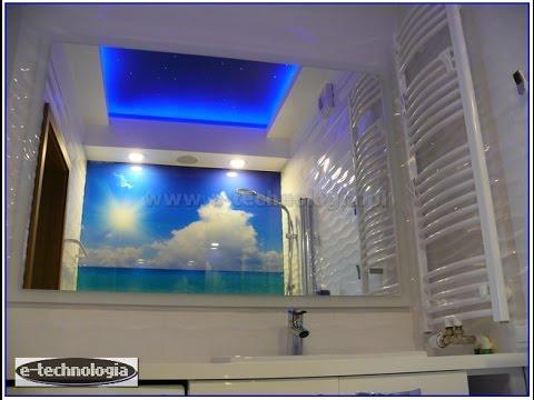 Gwiezdne Niebo W łazience. Wystrój, Wyposażenie, Pomysł, Galeria, Aranzacja, Projekt