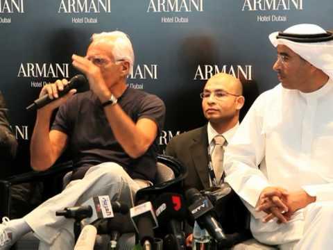 Dubai opens hotly-awaited Armani hotel