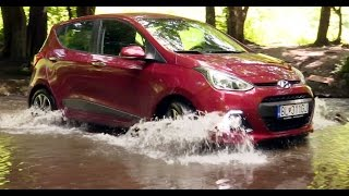 Hyundai i10 on the road and the Off-road