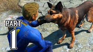 Fallout 4 Walkthrough PART 1 Gameplay (PS4) No Commentary @ 1080p HD ✔