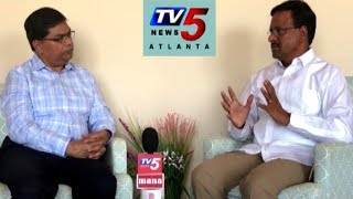 TRS State Secretary Madhu Tata Face To Face | USA