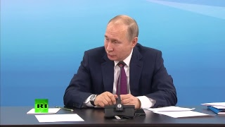 Путин проводит совещание по вопросам подготовки к XXIX Всемирной зимней универсиаде в Красноярске