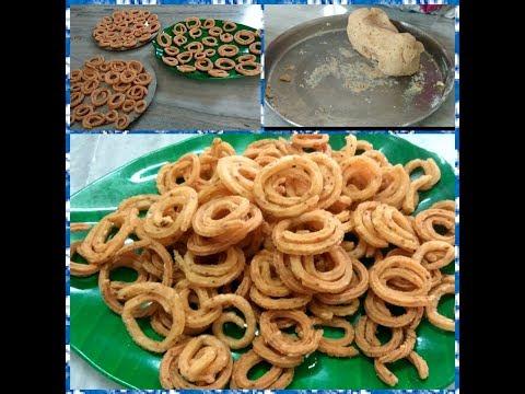 Murukulu  Recipe & Tasty Murukulu