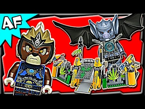 Lavertus' OUTLAND BASE 70134 Lego Legends of Chima Stop Motion Review