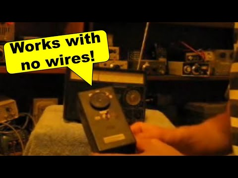 Signal frequency BFO demonstration