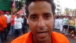 Coordenador do Sindipetro Bahia fala sobre a manifestação contra reforma previdenciária