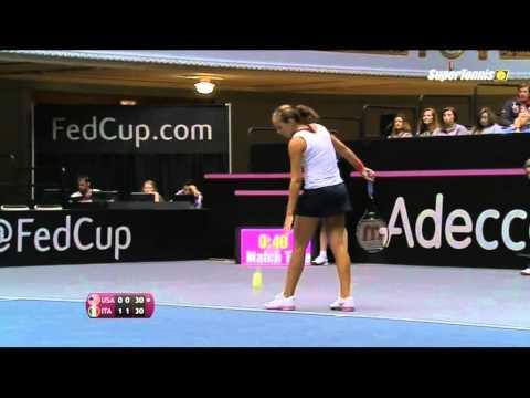 [Fed Cup 2014] Camila Giorgi domina Madison Keys pt.1