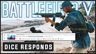 DICE RESPONDS with a letter to the community - Battlefield 5