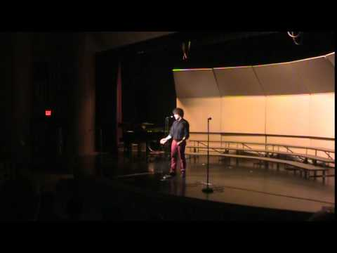 Marcus Sings Let It Go at Nekoosa High School