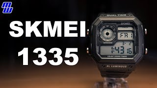 SKMEI 1335 - A Casio Royal Ripoff? - Review, Measurements, Lume, + Priscilla is missing